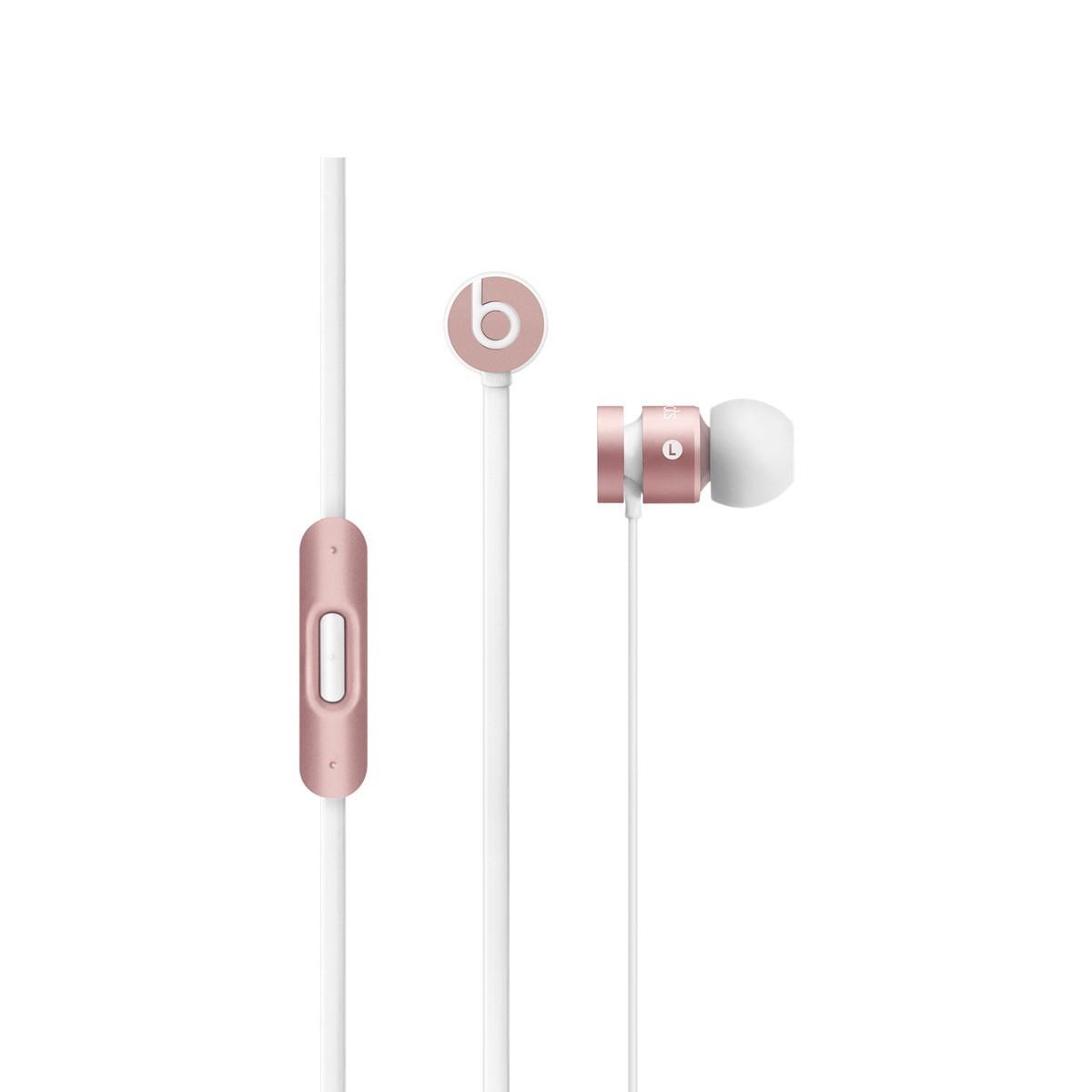 Sluchátka do uší Beats by Dr. Dre urBeats, růžově zlatá
