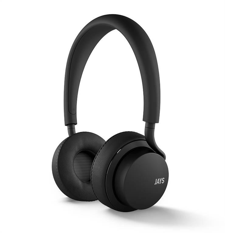 Sluchátka u-JAYS iOS, černá
