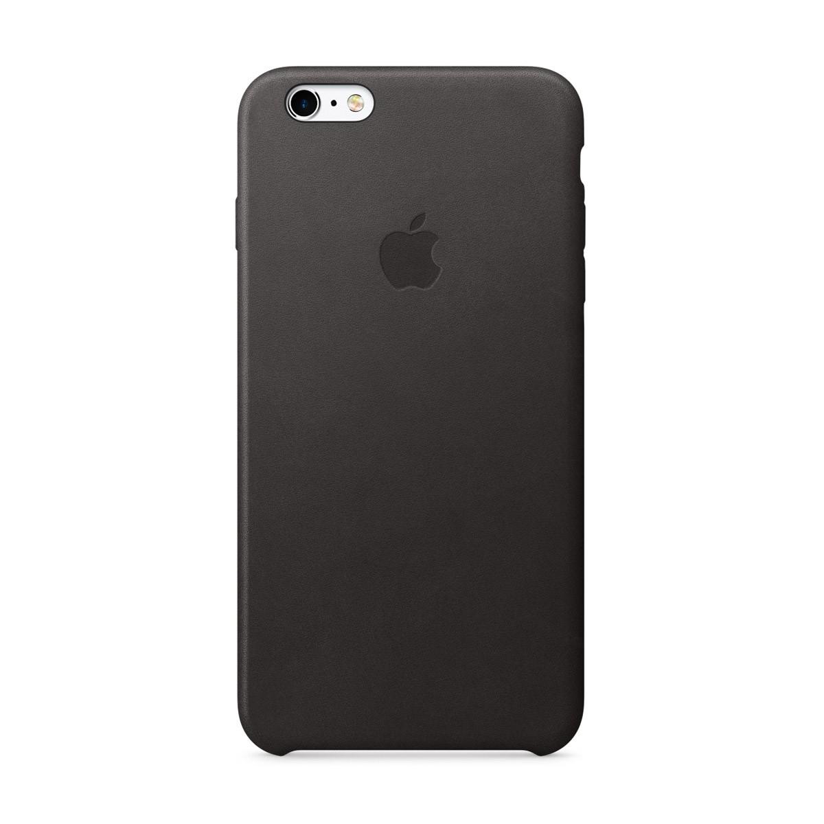 Apple kožený kryt na iPhone 6s Plus - černý