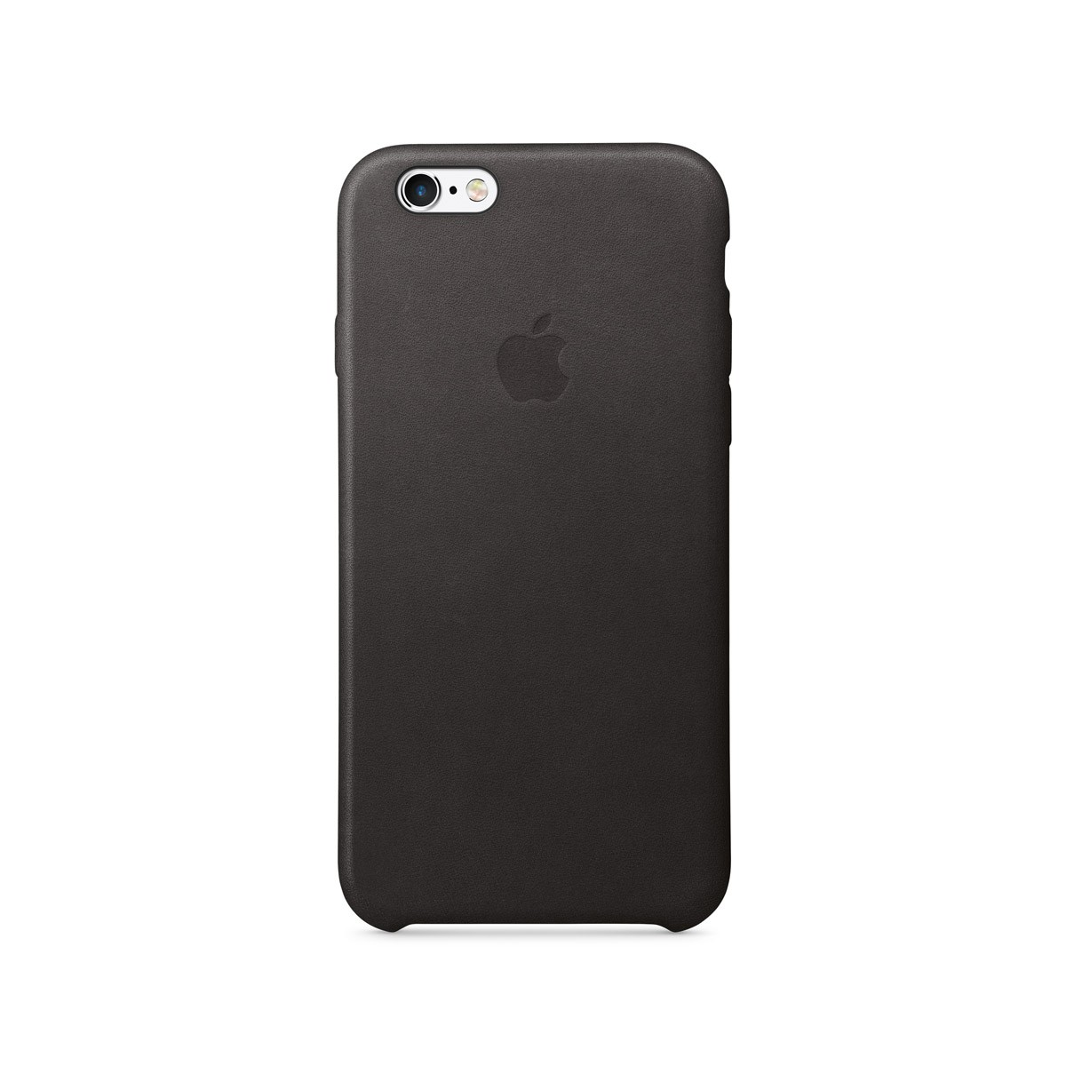 Apple kožený kryt na iPhone 6s - černý