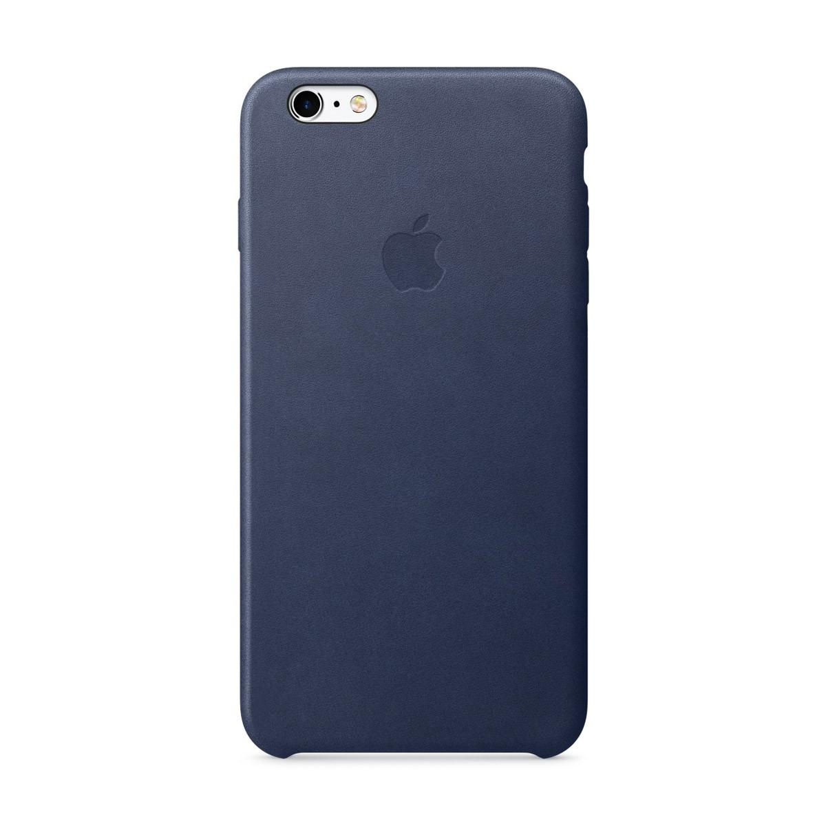 Apple kožený kryt na iPhone 6s Plus - půlnočně modrý