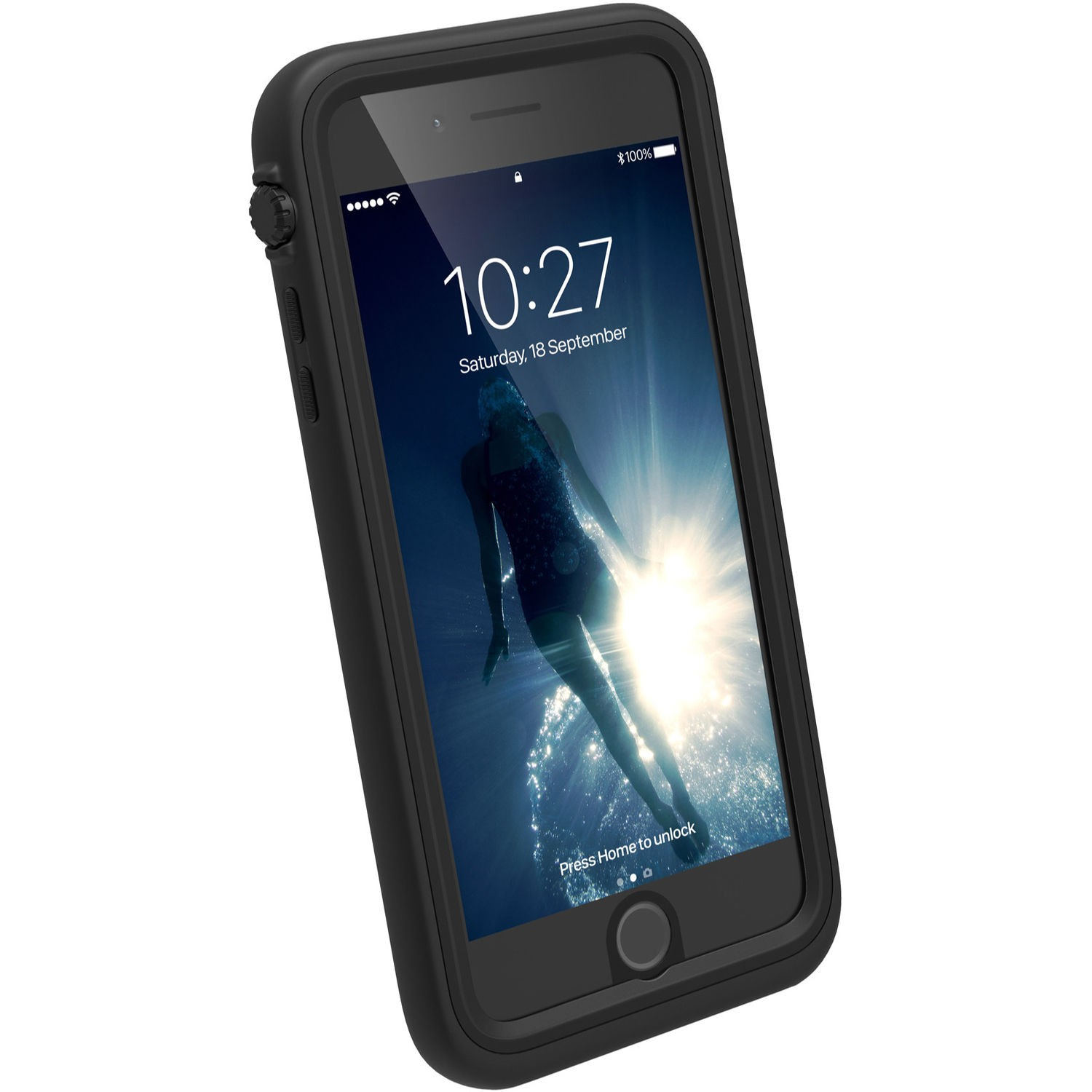 Catalyst Waterproof case for iPhone 7 Plus - Black