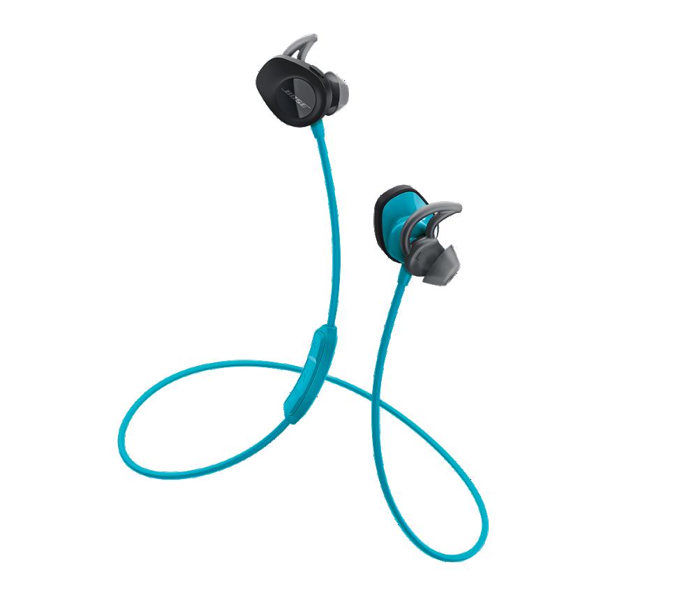 Bezdrátová sluchátka Bose SoundSport, modrá