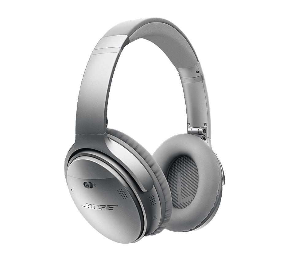 Bezdrátová sluchátka Bose QuiteComfort 35 stříbrná