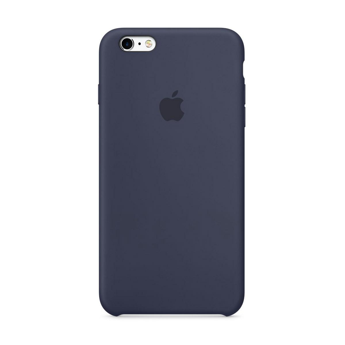 Apple silikonový kryt na iPhone 6s Plus - půlnočně modrý