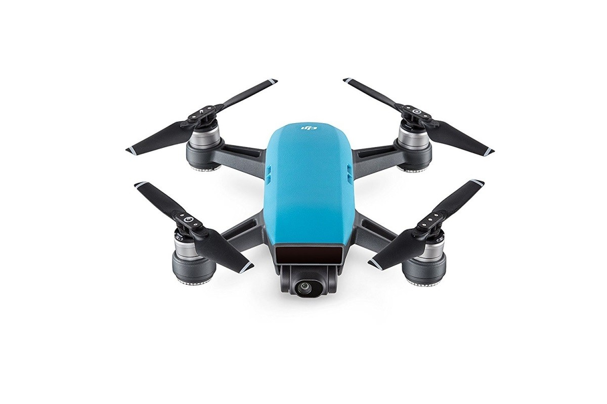 DJI Spark Fly More Combo, inteligentní dron v balení s vysílačem  - modrý