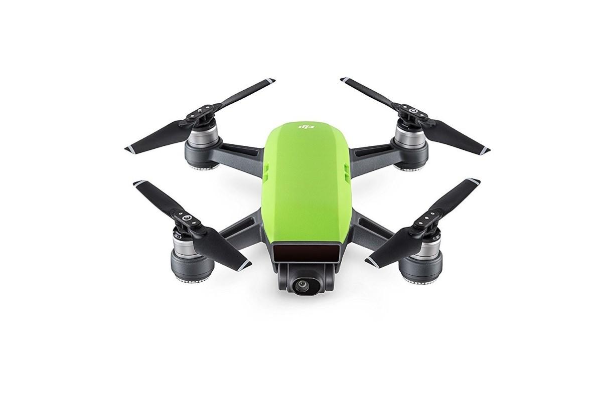 DJI Spark Fly More Combo, inteligentní dron v balení s vysílačem  - zelený