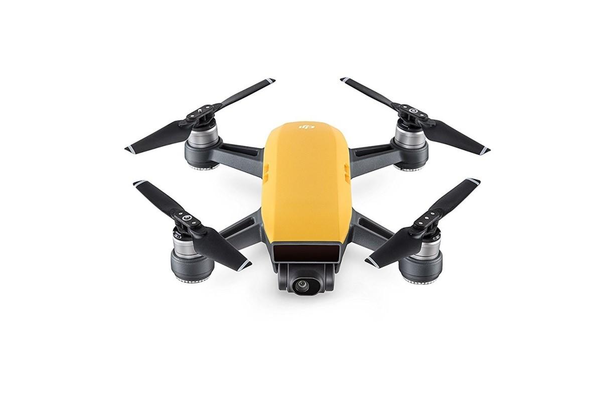 DJI Spark Fly More Combo, inteligentní dron v balení s vysílačem  - žlutý