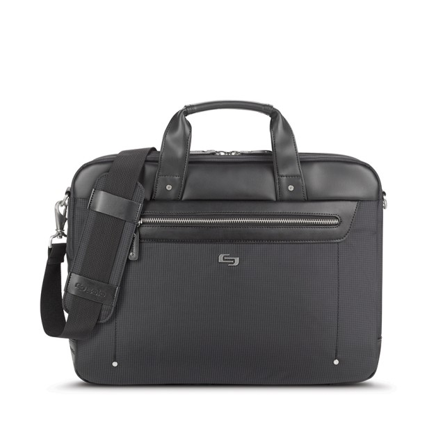 """Solo Irving Briefcase - taška pro 15.6"""" Macbook- černá"""