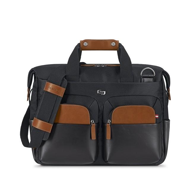 """Solo Sag Harbor Briefcase - taška pro 15.6"""" Macbook - černá"""