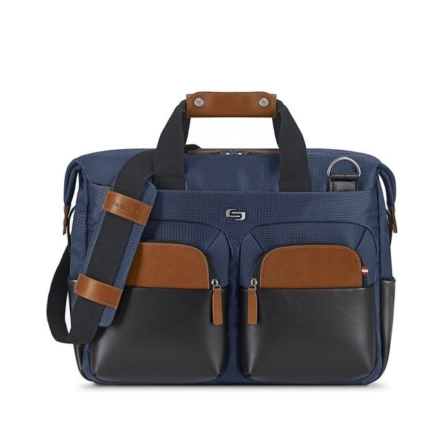 """Solo Sag Harbor Briefcase - taška pro 15.6"""" Macbook - modrá"""