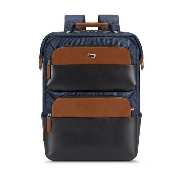 "Solo East Hampton Backpack - batoh pro 15.6"" Macbook - modrý"