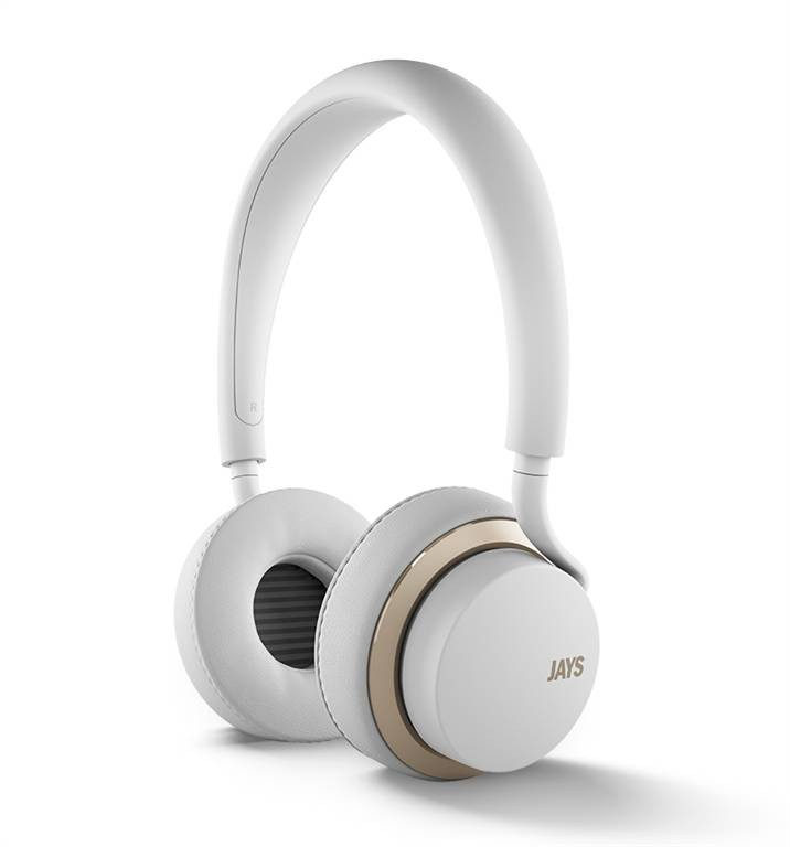 u-JAYS iOS bílo zlatá sluchátka