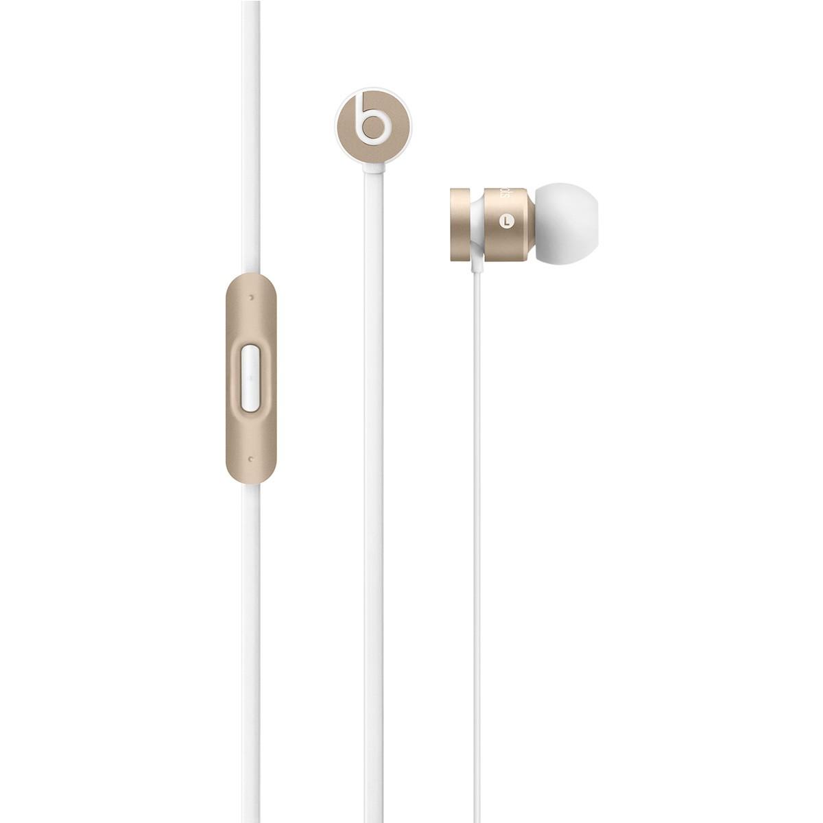 Sluchátka do uší Beats by Dr. Dre urBeats, zlatá