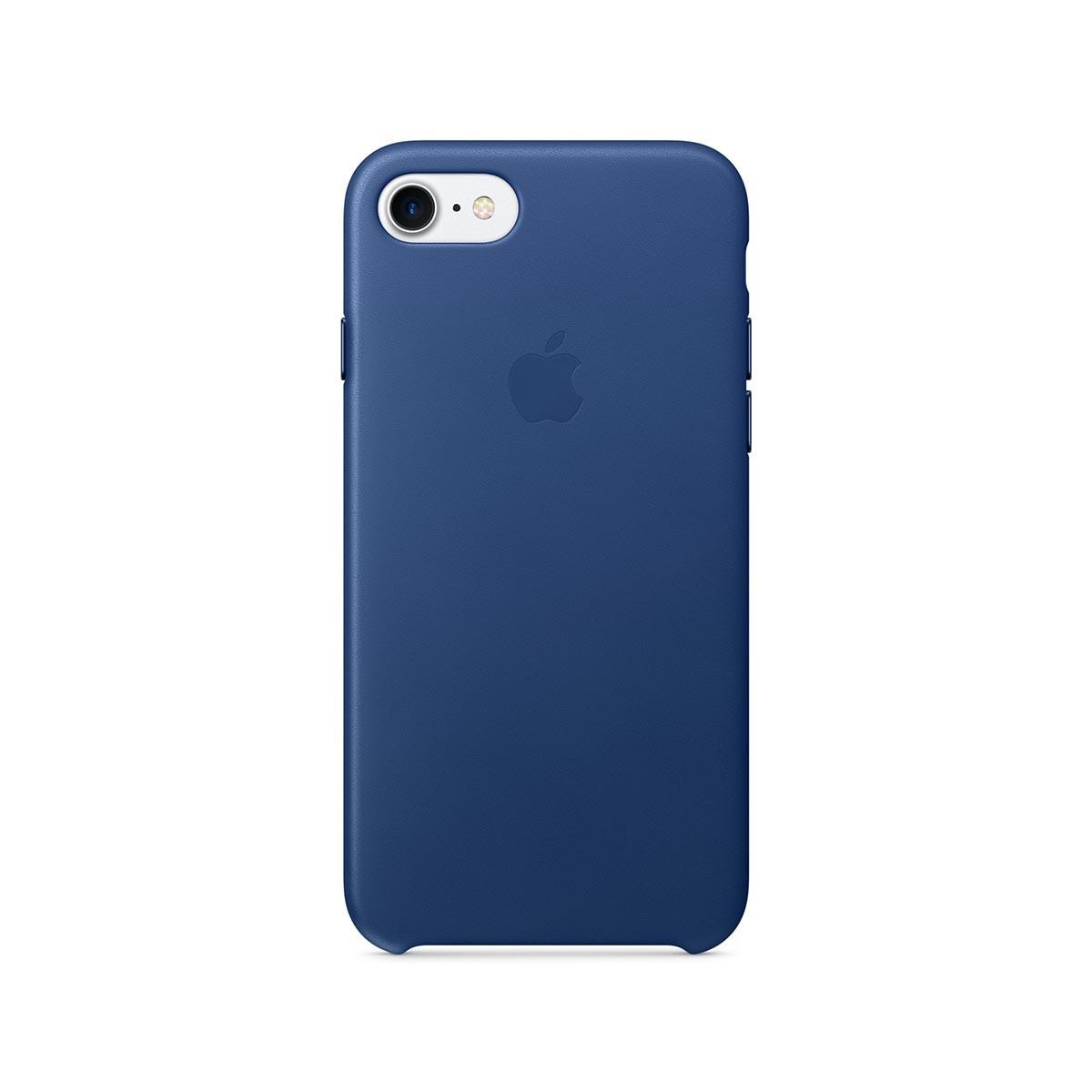 Apple kožený kryt na iPhone 7 – safírový