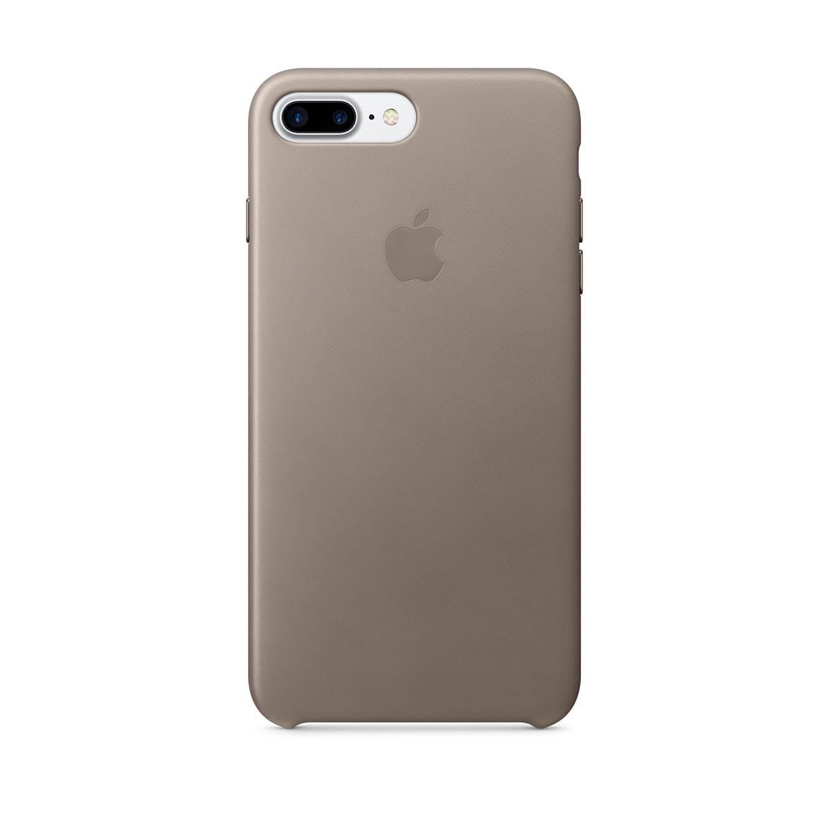 Apple kožený kryt na iPhone 7 Plus – kouřový
