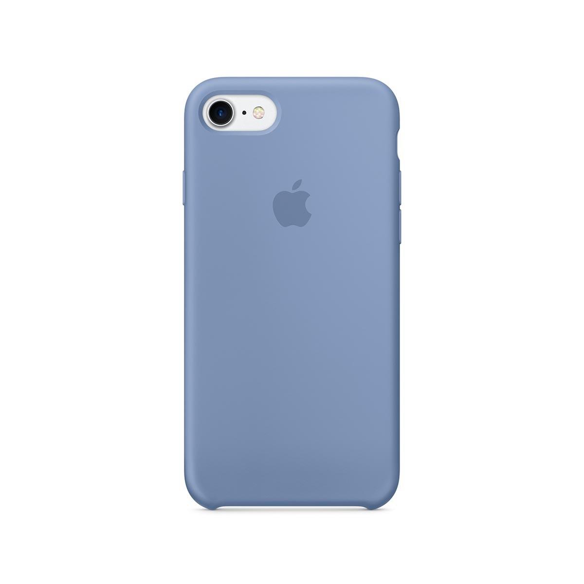 Apple silikonový kryt na iPhone 7 – blankytný