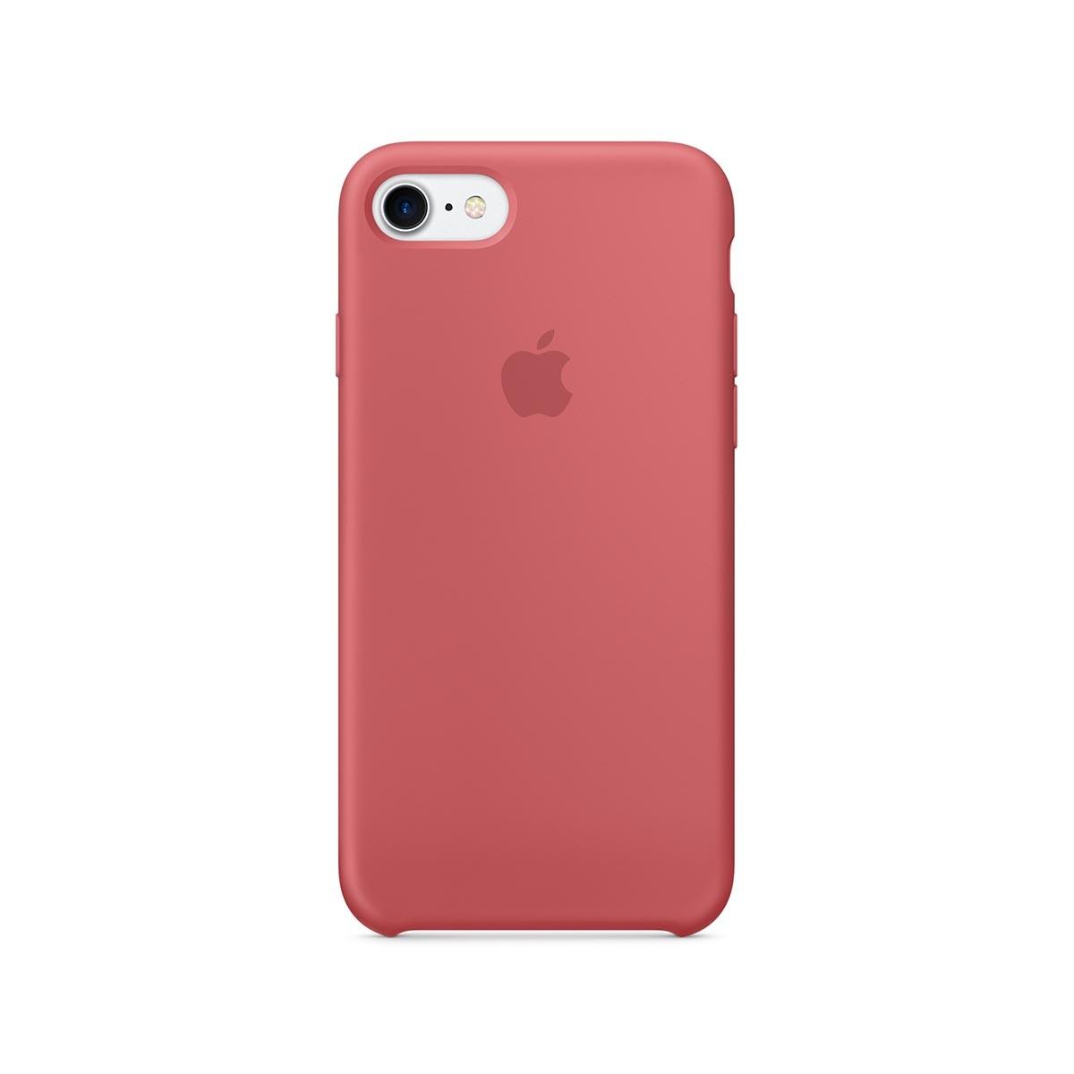 Apple silikonový kryt na iPhone 7 – kaméliový