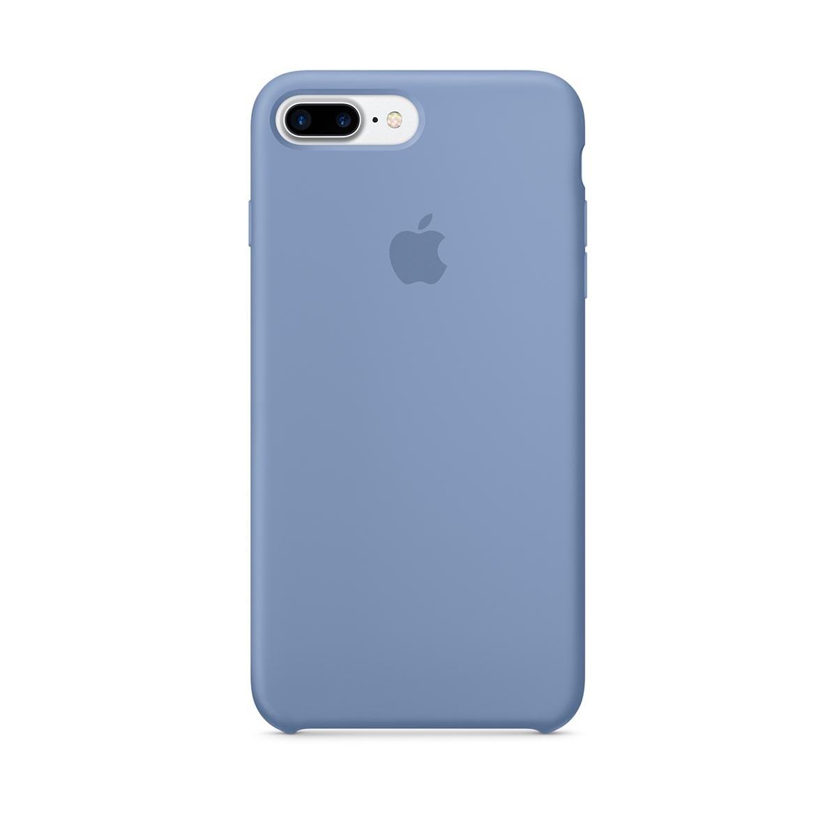 Silikonový kryt na iPhone 7 Plus – blankytný