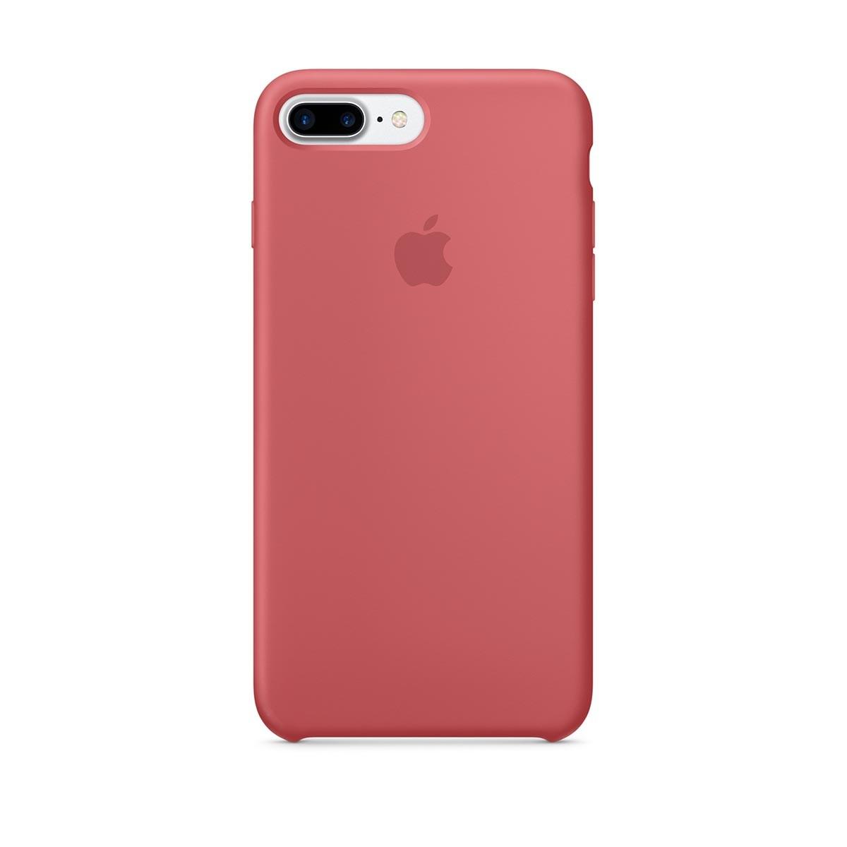 Silikonový kryt na iPhone 7 Plus – kaméliový