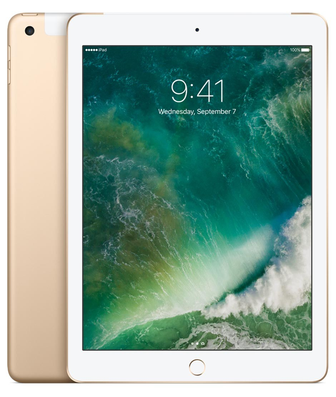 iPad Wi-Fi + Cellular 128GB - zlatý