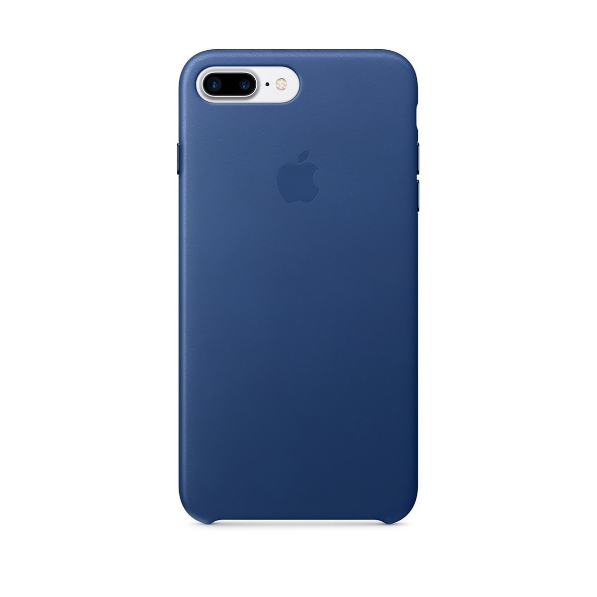 Apple kožený kryt na iPhone 7 Plus – safírový