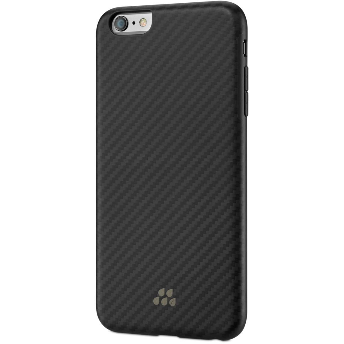 Nasazovací pouzdro Evutec Karbon SI na iPhone 6 Plus - černé