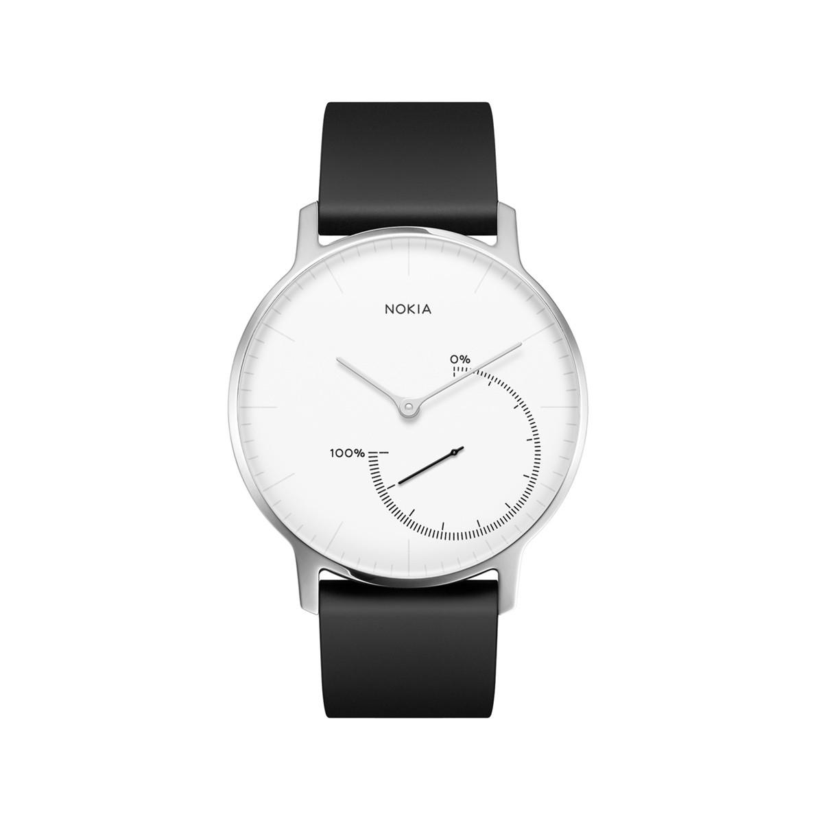 Nokia Activité Steel, černo-bílé hodinky