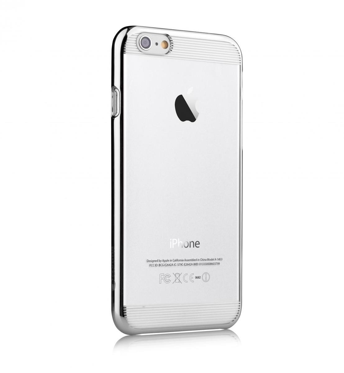 COMMA - Brightness Case for iPhone 6 Plus - Silver