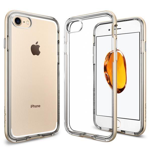 Spigen Neo Hybrid Crystal - tenký kryt pro iPhone 7, zlatý