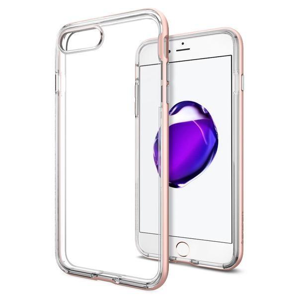 Spigen Neo Hybrid Crystal - tenký kryt pro iPhone 7 Plus, růžově zlatý