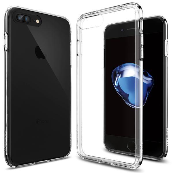 Kryt na iPhone 7 Plus Spigen Ultra Hybrid - průhledný