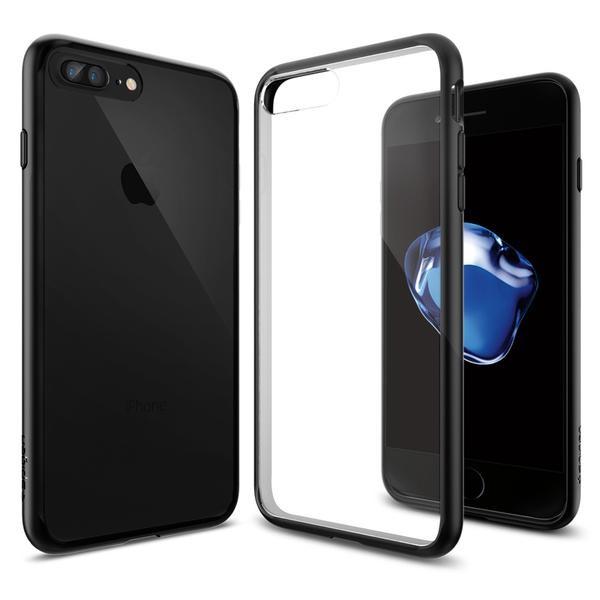 Spigen Ultra Hybrid - ochranný kryt pro iPhone 7 Plus, černý