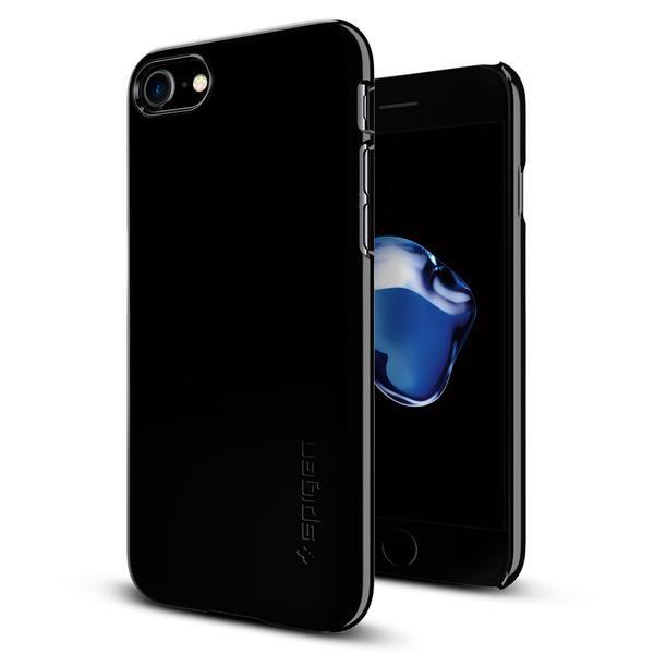 Spigen Thin Fit - ultra tenký kryt pro iPhone 7, temně černý