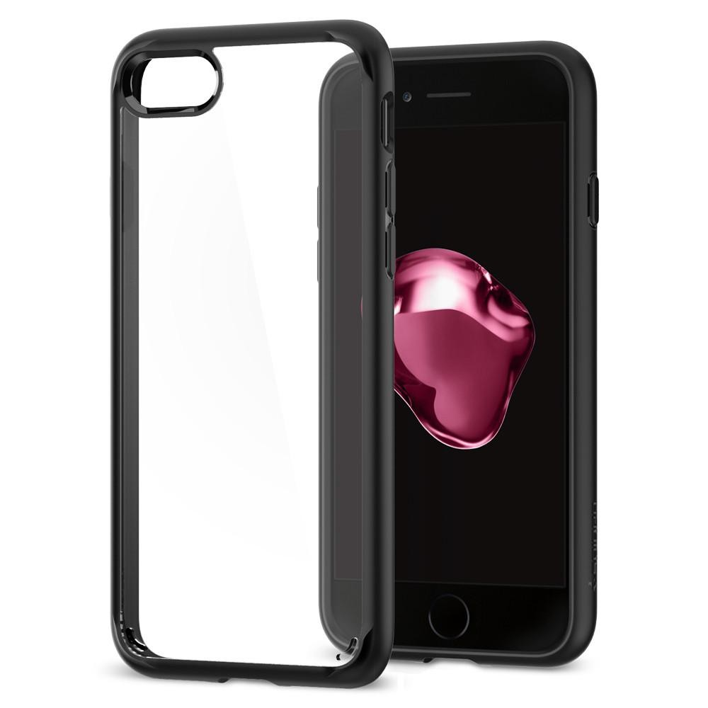 Kryt na iPhone 7 Spigen Ultra Hybrid 2 - černý