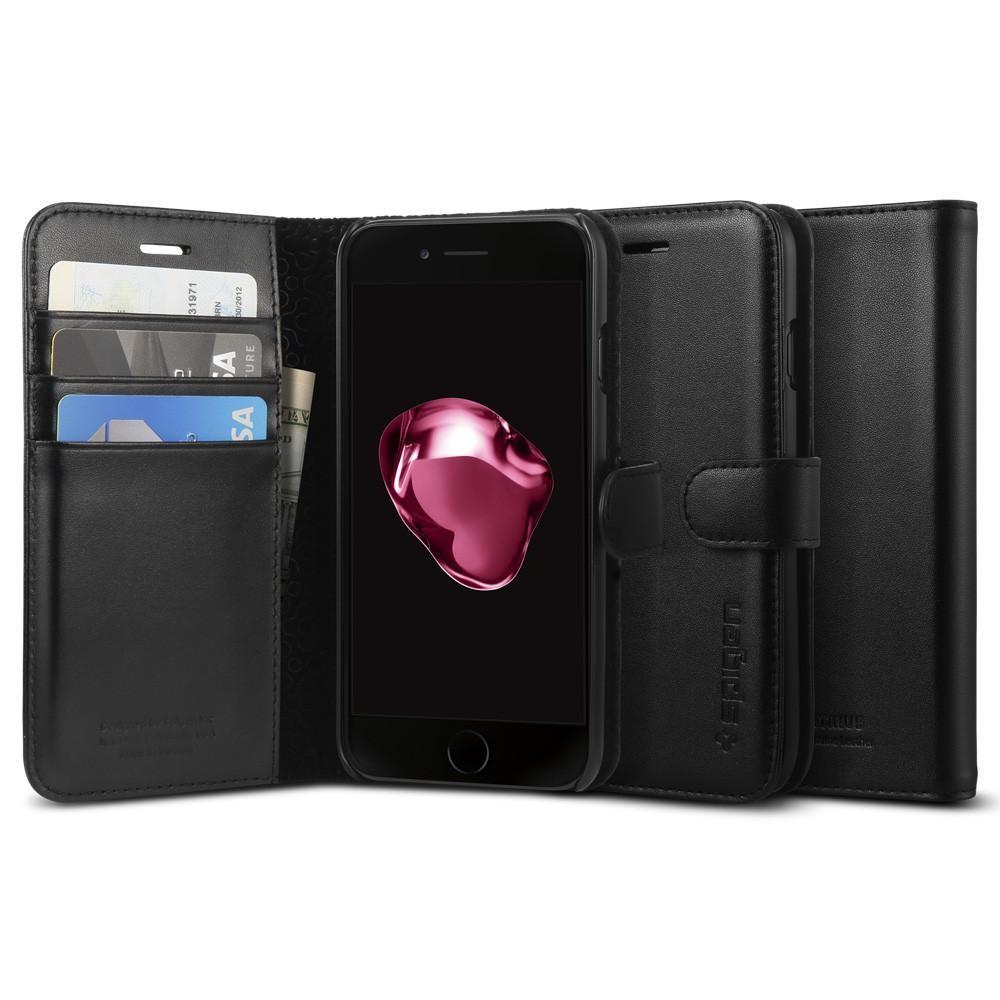 Obal na iPhone 7 Spigen Valentinus  - černý