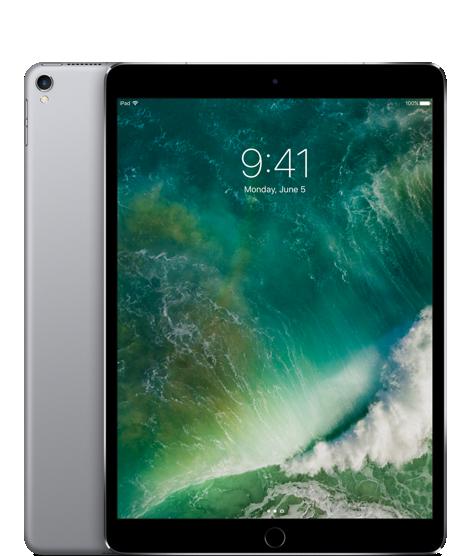 """iPad Pro 10,5"""" Wi‑Fi 64 GB – vesmírně šedý"""