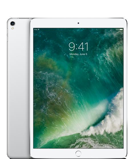 """iPad Pro 10,5"""" Wi‑Fi + Cellular 64 GB – stříbrný"""