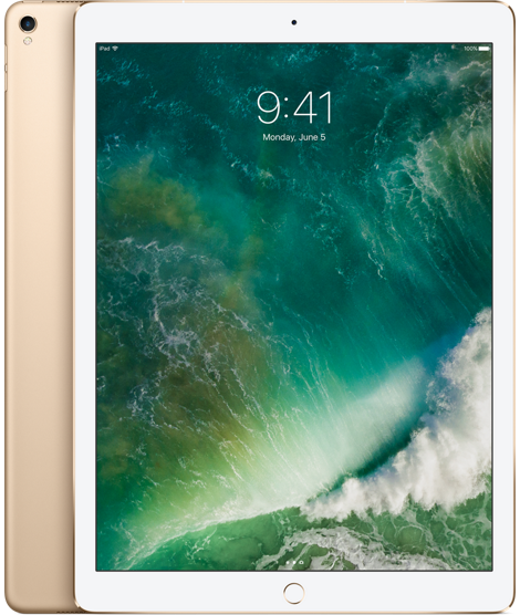 "iPad Pro 12,9"" Wi‐Fi + Cellular 64 GB – zlatý"