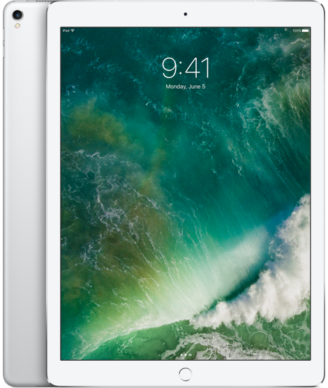 """iPad Pro 12,9"""" Wi‐Fi + Cellular 256 GB – stříbrný"""