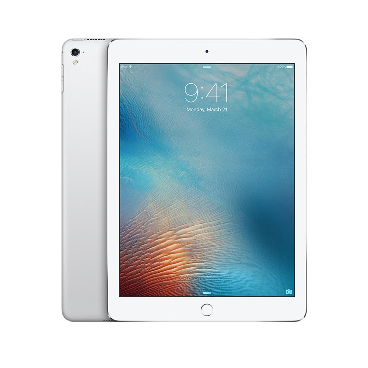 """Apple iPad Pro 9,7"""" Wifi - Cellular 128GB - Stříbrný (rozbalený, použitý, záruka a odpovědnost z vad 12 měsíců)"""