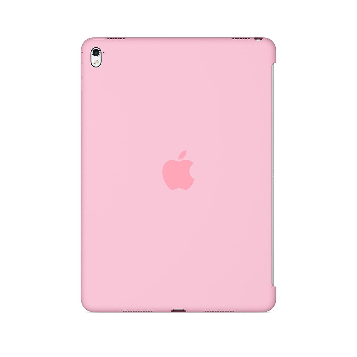 Apple silikonové pouzdro na 9,7palcový iPad Pro - světle růžové