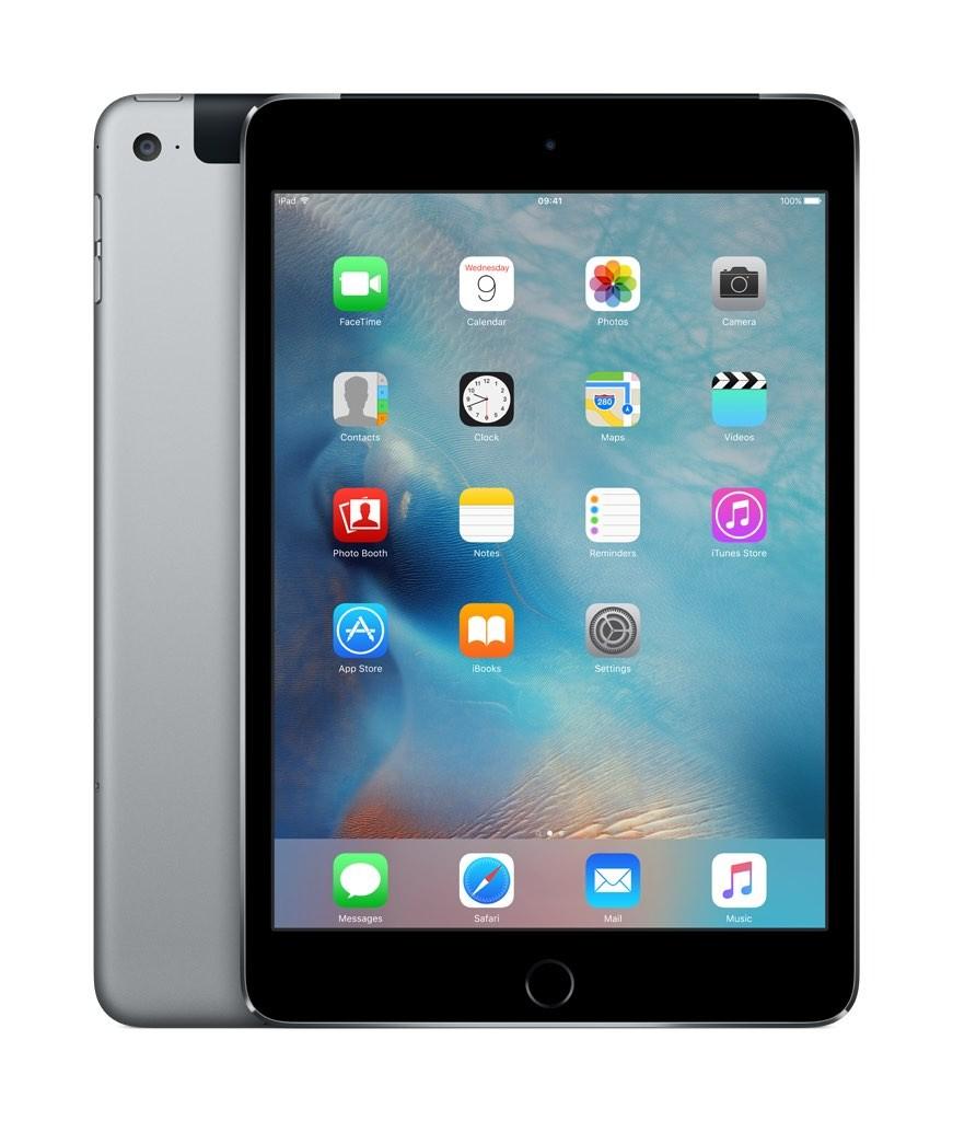 iPad mini 4 Wi-Fi + Cellular 64GB - vesmírně šedý (servisovaný, nepoužitý, záruka a odpovědnost z vad 12 měsíců)