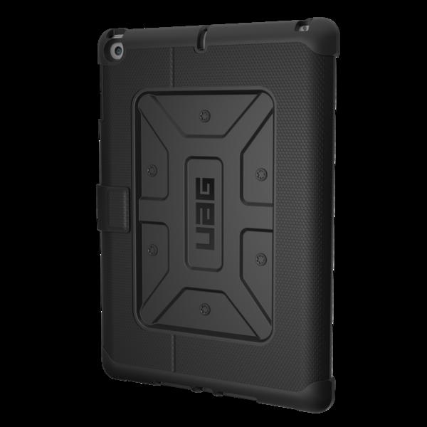 UAG Metropolis, odolné pouzdro pro iPad (2017) - černé