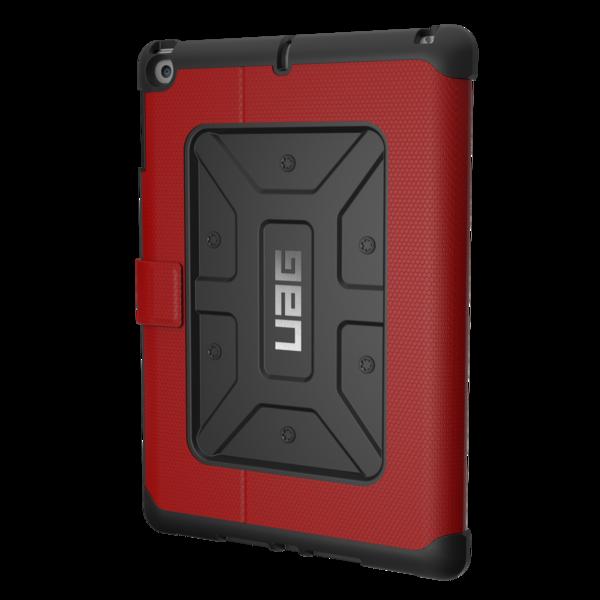 UAG Metropolis, odolné pouzdro pro iPad (2017) - červené