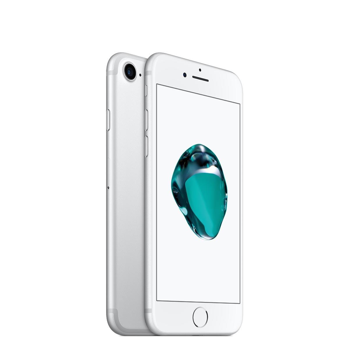 Apple iPhone 7 128GB - stříbrný (servisovaný, použitý, záruka a odpovědnost z vad 12 měsíců)