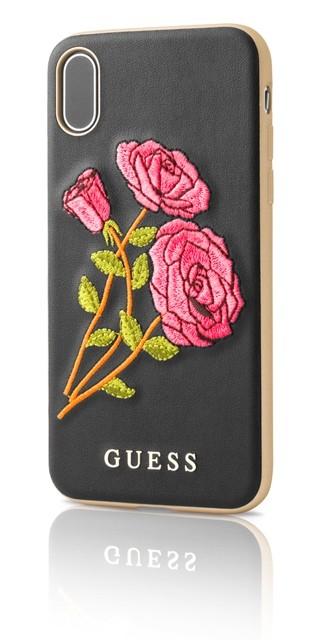 Guess Flower Desire, zadní kryt pro iPhone X