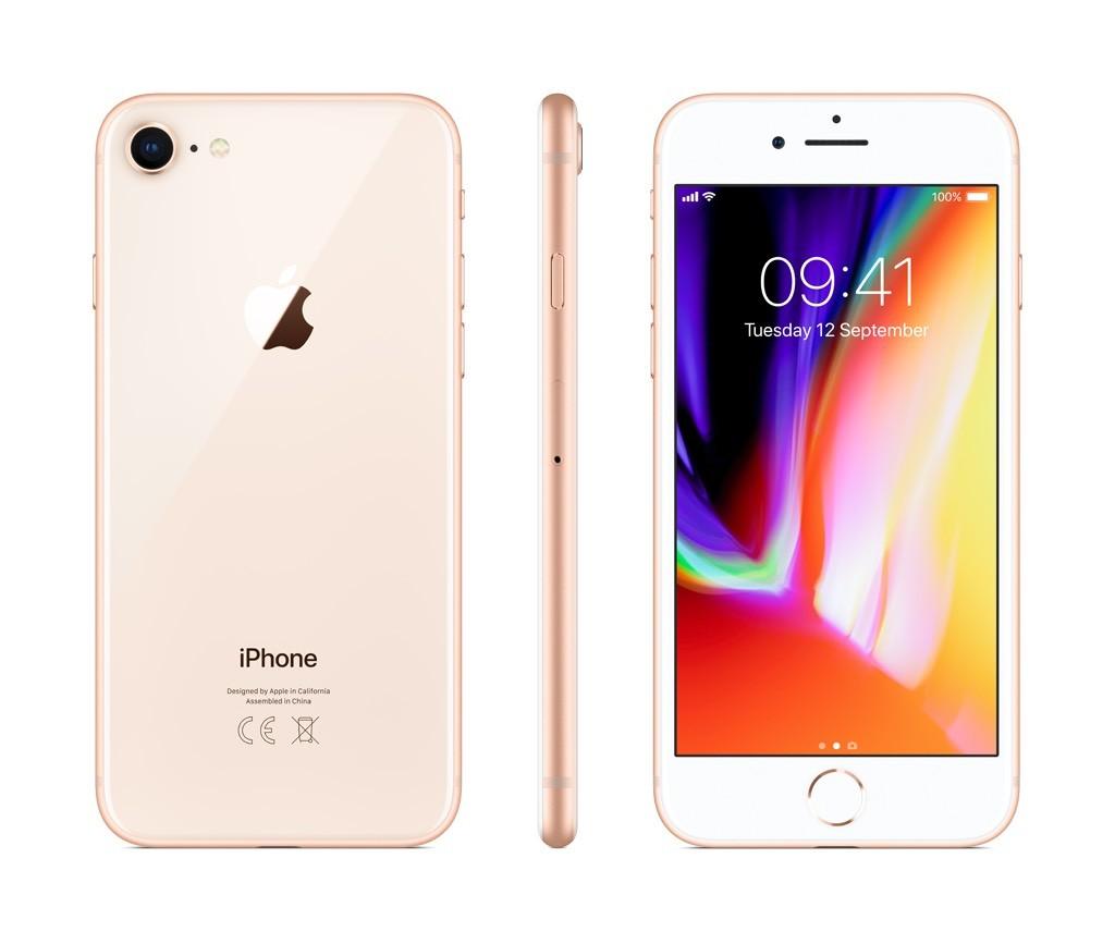 iPhone 8 64GB zlatý (otevřený, záruka a odpovědnost z vad 12 měsíců u iSTYLE)