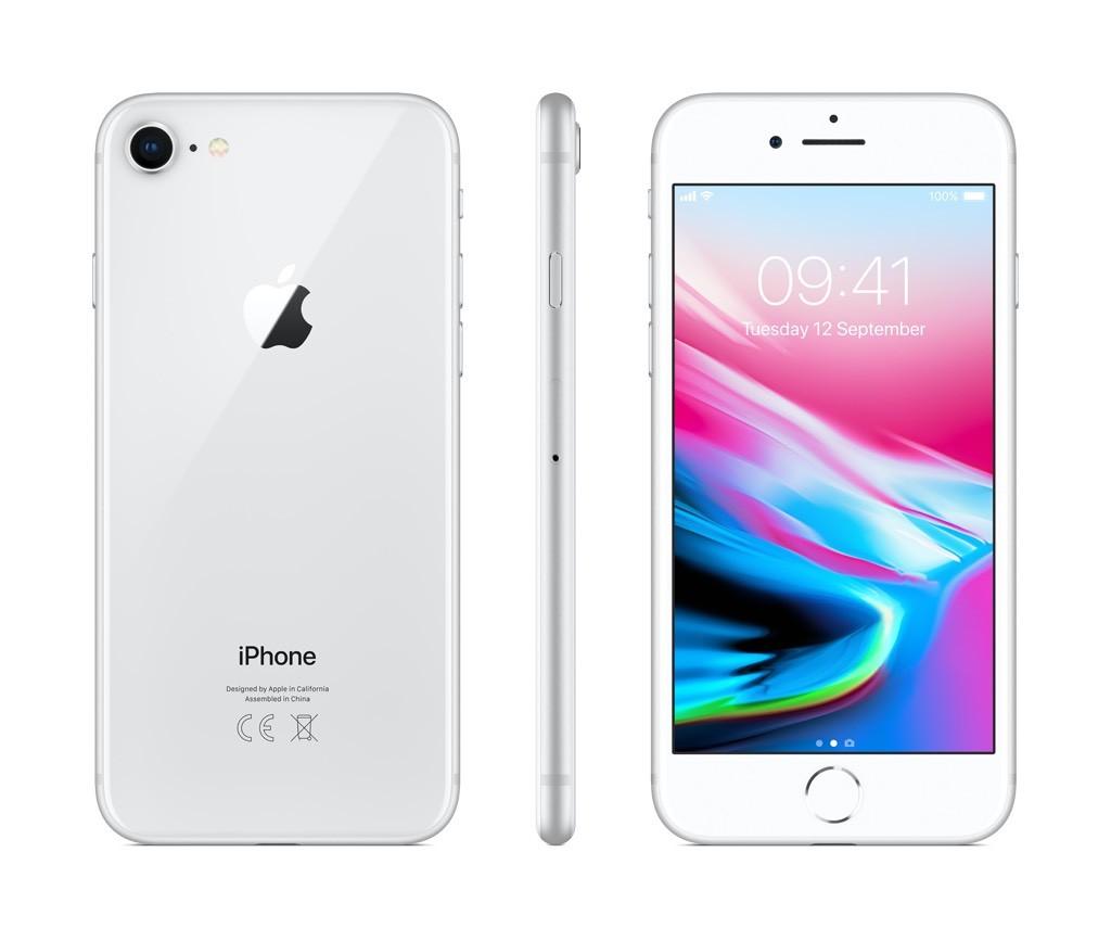 iPhone 8 64GB stříbrný