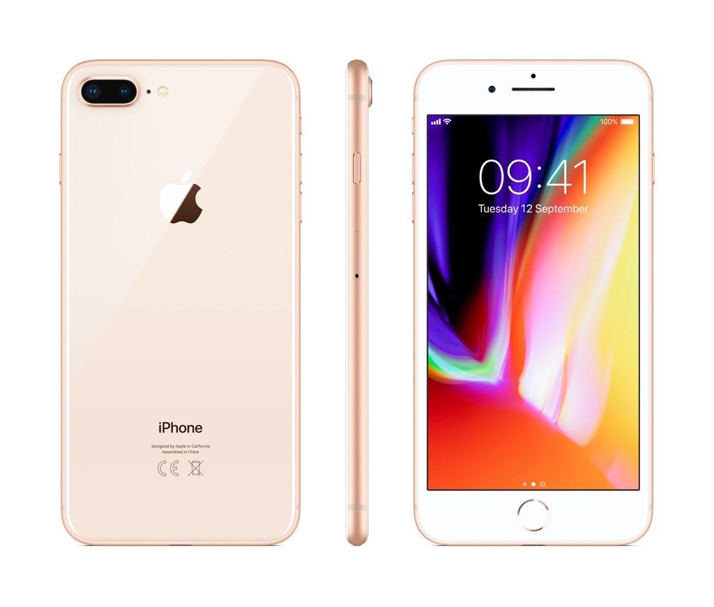 iPhone 8 Plus 64GB zlatý (otevřený, použitý, záruka a odpovědnost z vad 12 měsíců u iSTYLE)